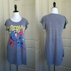 Superman Soft Nightgown, S